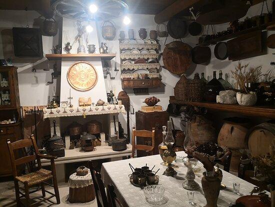 Asteri, Grèce: la partie musée