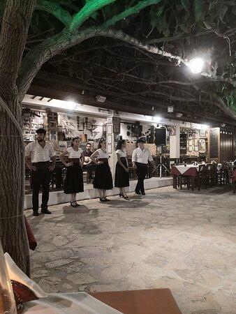 Asteri, Grèce: soirée grecque