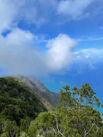 Koke'e State Park, HI: Ocean views