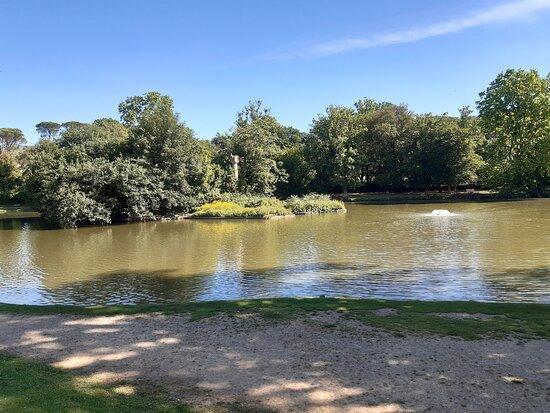 panoramica del Parco dal laghetto