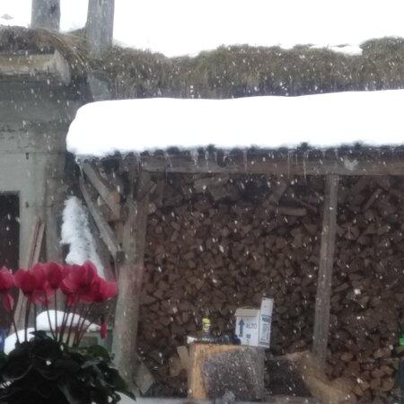 Nevicata passo San Pellegrino 14 ottobre