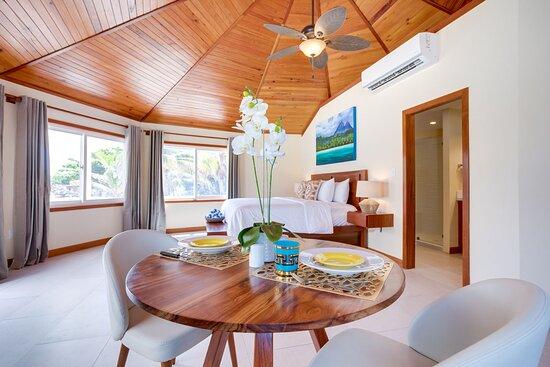 Private cabana interior