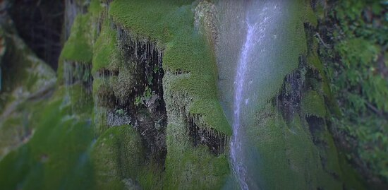 Kritou Terra, Kypros: Фото самого водопада с дрона