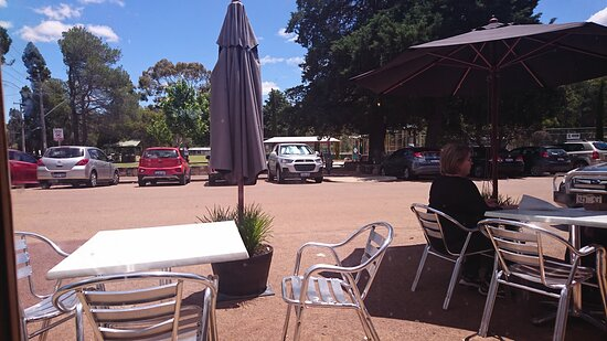 Outside eating areas Perrella's, Darlington, WA