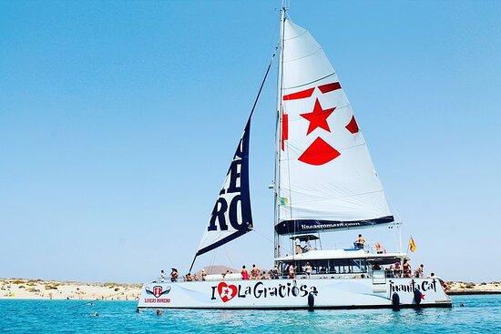 Lanzarote: La Graciosa island cruise...