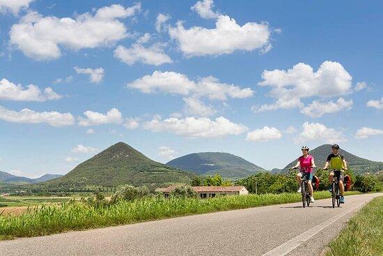 Sykkeltur i Euganean Hills