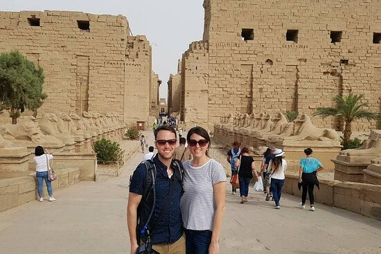 day tour to east and west bank from...