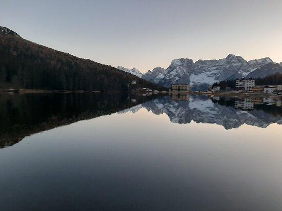 vista sul lago