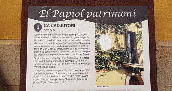 El Papiol, Spanien: Ca L'Adjutori