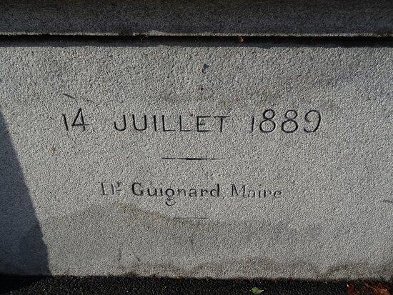 Statue à Nicolas-Joseph Beaurepaire