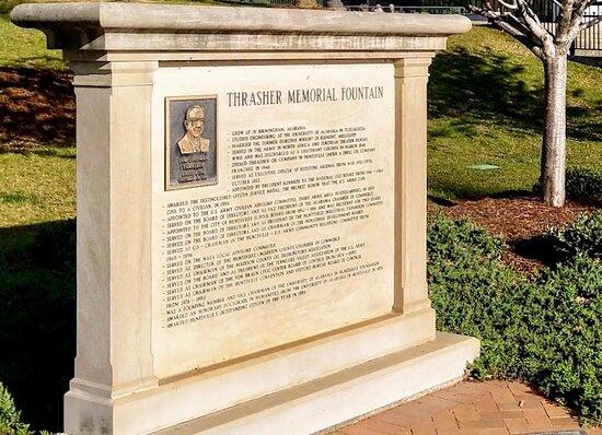 Thrasher Memorial Fountain