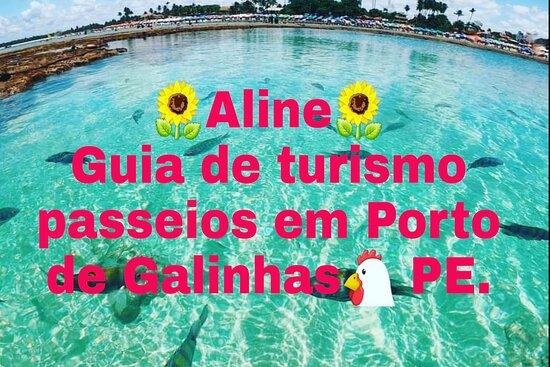 Aline Guia PE passeios e translados Porto de Galinhas