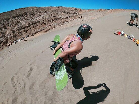 SandBoarding Mystic