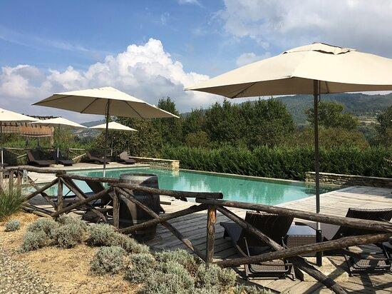 Melazzo, إيطاليا: Super heerlijk zwembad.