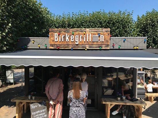 Birkerod, Danmark: caféen