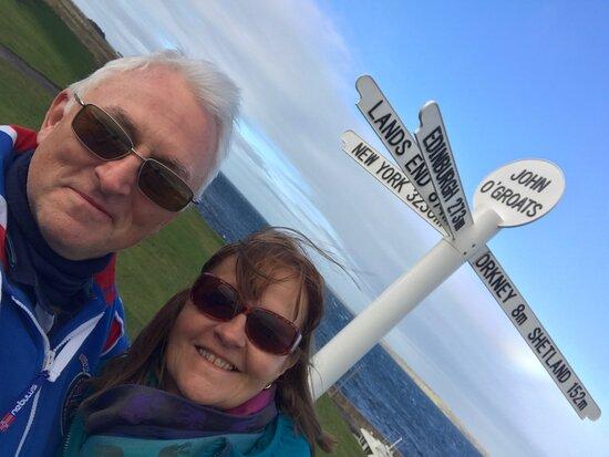 John O'Groats Signpost