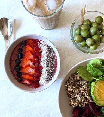 Health treats at the EBIKE CAFE @ Deheers