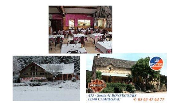 Campagnac, Pháp: Grande salle de restaurant ,commodité douches etc sotie 41 A75