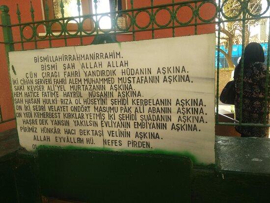 Mansur Ali Baba Türbesi