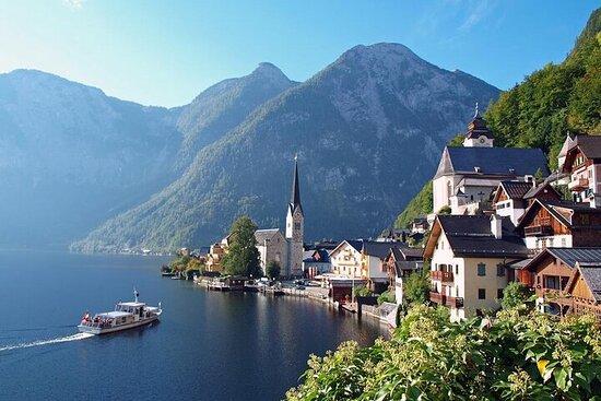 VIAJE DE UN DÍA de Salzburgo a Hallstatt a través de St.Gilgen...