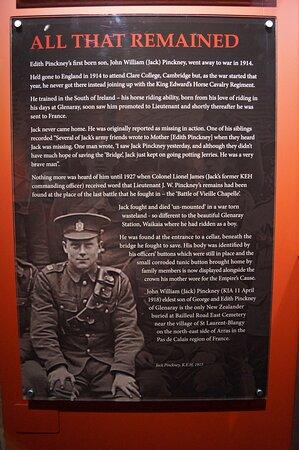 Waikaia, New Zealand: Local men who went to war.