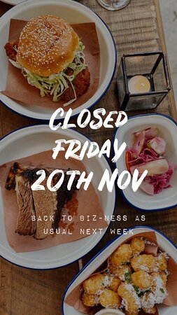 CLOSED 〰️ for a private function this week. Back to biz-ness as usual next week, see you then folks! 🖤