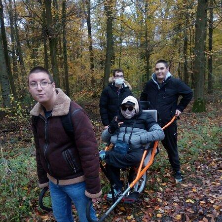 Condé-sur-l'Escaut, France : Challenge Marche Ass Sportive Cerfontaine