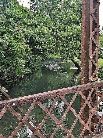 Pierce City, MO: The old Haskins bridge