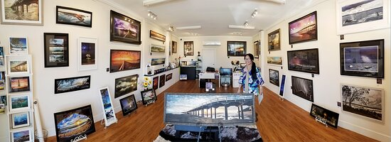 Torquay, Úc: In the gallery display