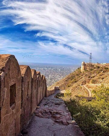 Nahargah fort view