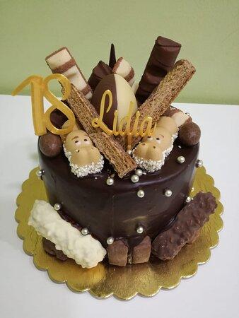 Tarta chocolate total