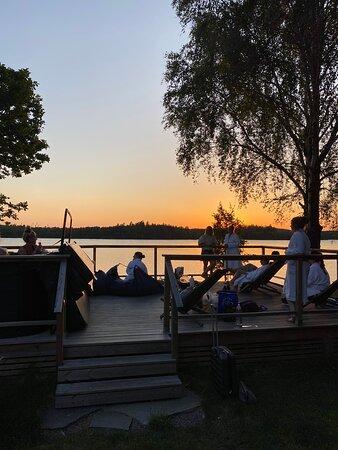 Kinna, Sverige: Badtunna
