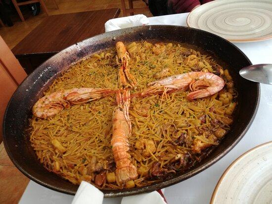 Alacuas, إسبانيا: Fideuà de marisco