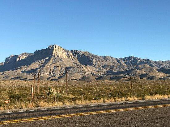 Salt Flat, TX: Guadalupe Mountains National Park El Capitan