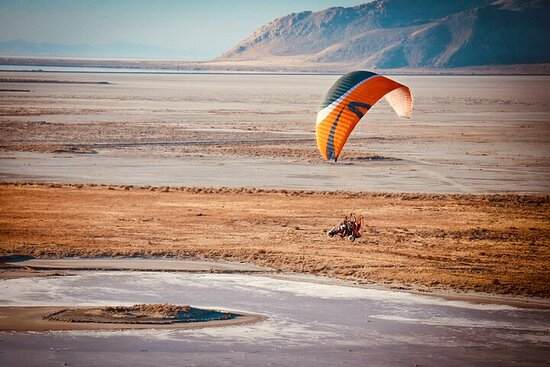 Fly over the Great Salt Lake- Tandem...
