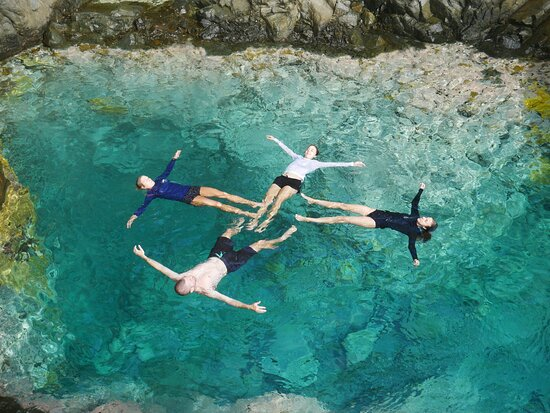 Saint-Barthelemy, Franciaország: The naturel pools hike, we will take you here...