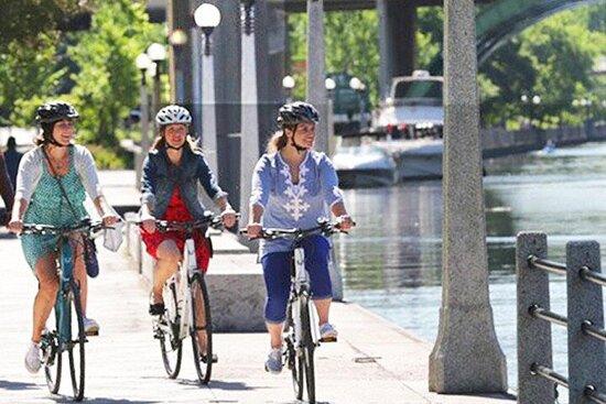 Excursion à vélo dans la capitale du...