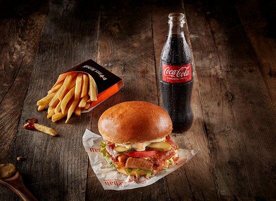 Doner Burger Main Meal