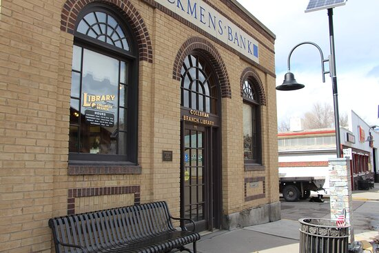 Stockman's bank was built in 1916. It became the home of the Mesa County Public Library's Collbran branch in 1995.