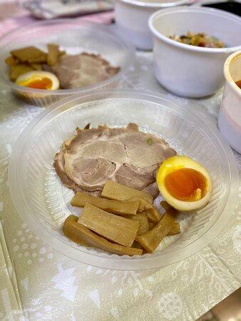 白武骨叉燒沾汁麵($79) 赤武骨叉燒沾汁麵($79)