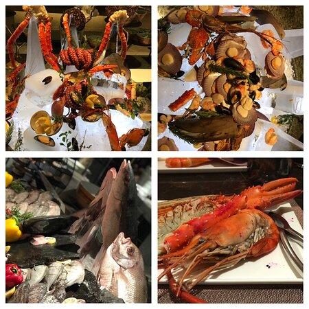 Seafood Night on Saturday