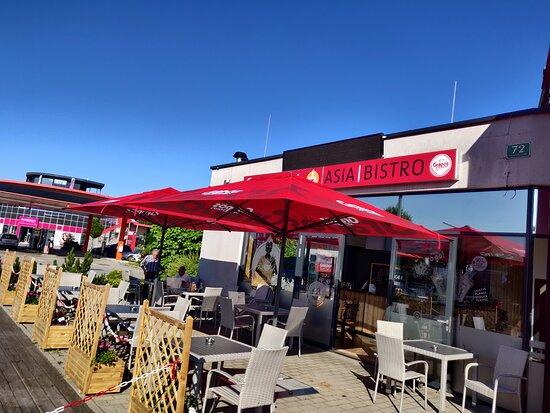 Deutschlandsberg, Αυστρία: Sonnige Terasse