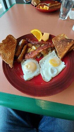 Good breakfast for $10.95 server all day