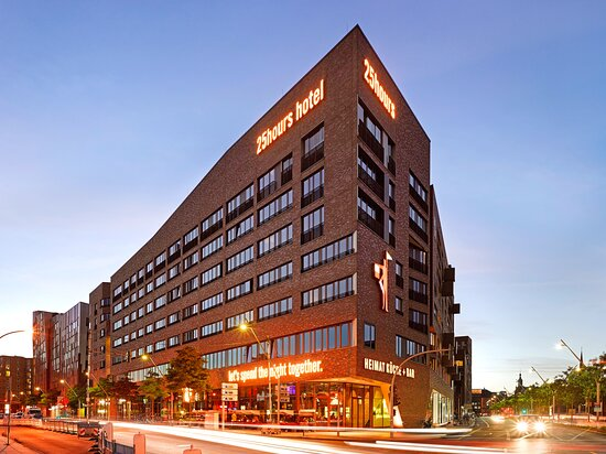 25hours Hotel HafenCity, hoteles en Hamburgo