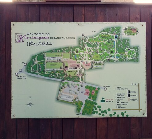 Keychungsan Botanical Garden