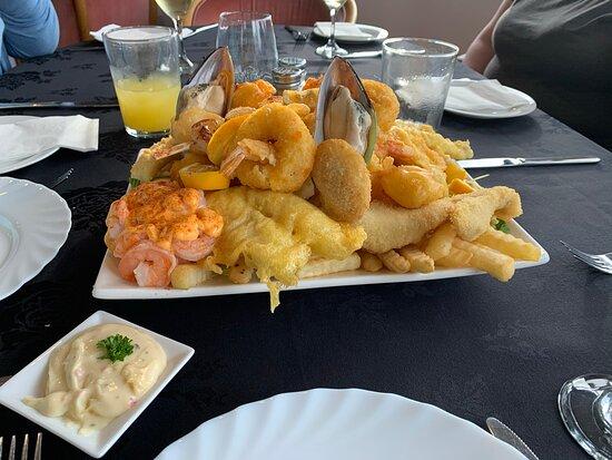 Eketahuna, Nova Zelândia: Seafood platter