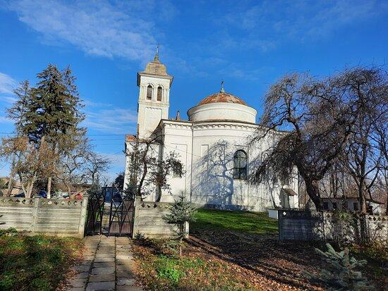 Pascani, Rumania: The church near Cuza palace, Ruginoasa