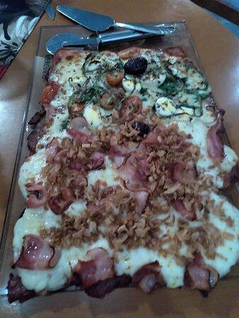Pizza filet mignon