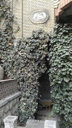 Beautiful yard of Moghadam house