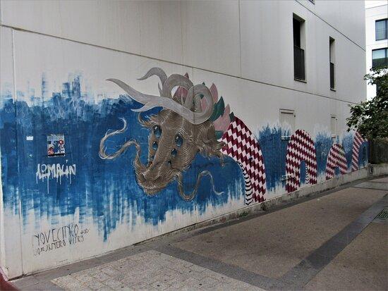 Street Art Du Passage Joliot Curie